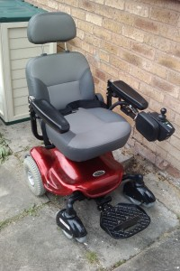 My old broken power wheelchair