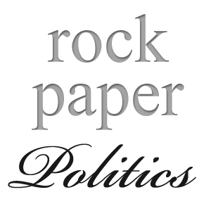 Rock Paper Politics title