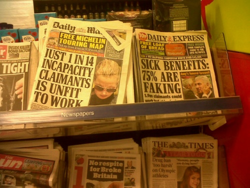 Twisting the facts, printing lies. How the DWP and tabloids are wrong about fit for work stats