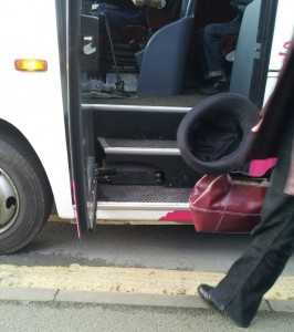 Accessible bus fail