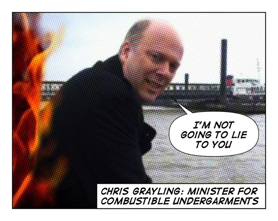 """Anti-capitalist extremists"" – how insulting can Grayling get?"