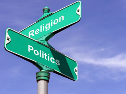 You can't keep religion out of politics