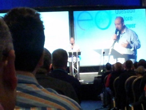 The start of QEDCon
