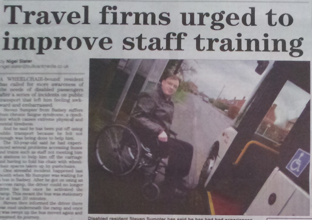 Evesham Observer on A2BForAll and Henshaw's Coaches