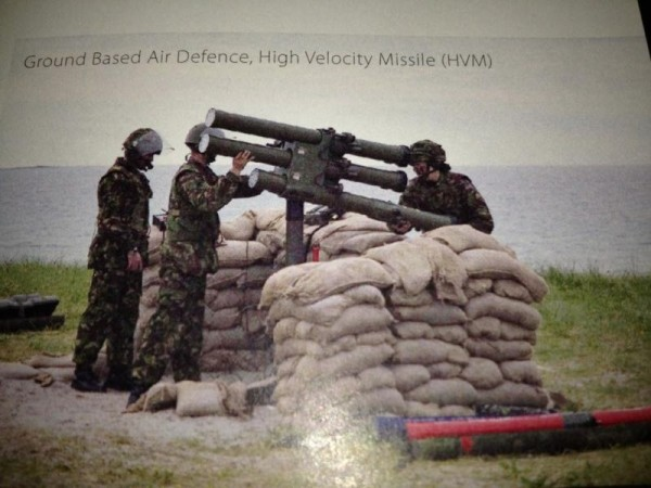 Ground Based Air Defence, High Velocity Missile
