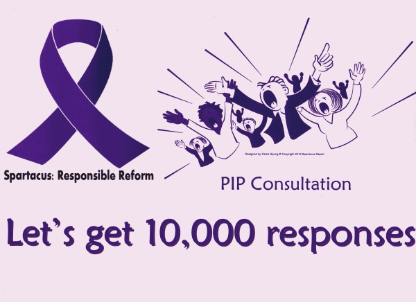 We Are Spartacus: PIP Consultation