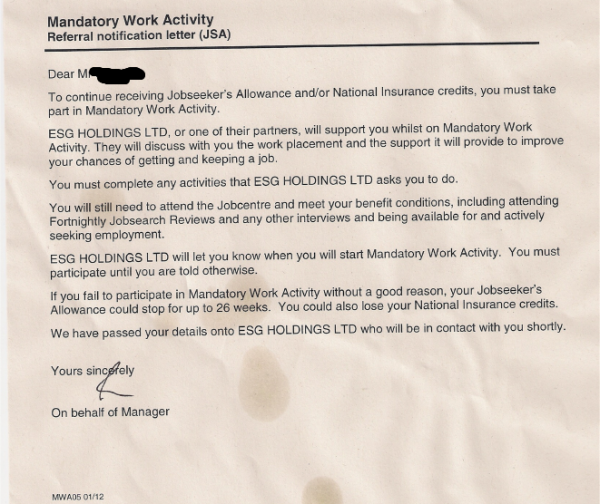 Dwp Still Breaking Their Own Rules On Mandatory Work