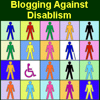 Blogging Against Disablism Day 2012