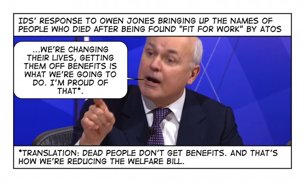 Dead people don't get benefits