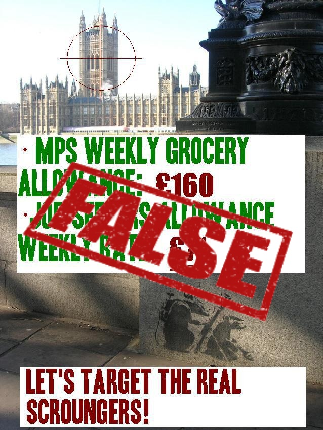 False claim about MP's groceries allowance