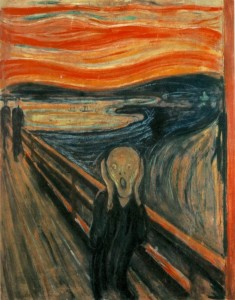 The Scream - how chronic illness feels