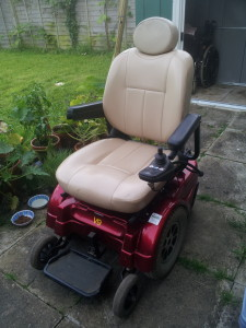 My current power wheelchair