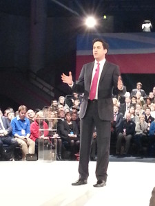 Ed Miliband at the People's Policy Forum