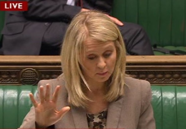 Esther McVey - Talk to the hand