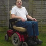 Me in my wheelchair
