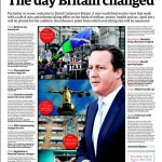 Newspaper front pages 01/04/2013