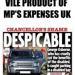 Vile product of MP's expenses