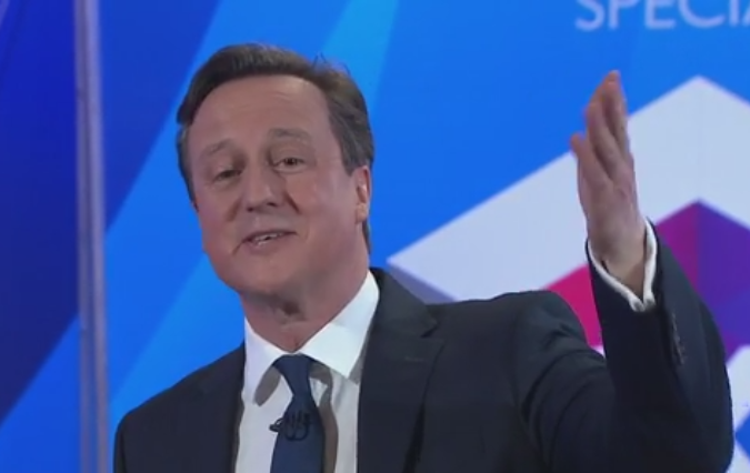 David Cameron on Question Time